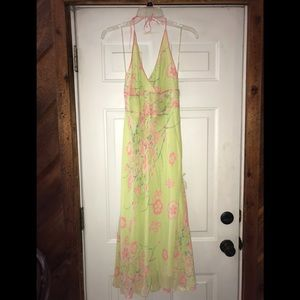 NWT $168 Stunning MSSP 100% silk dress sz 12